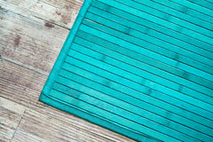 Turquoise rug Royalty Free Stock Photography