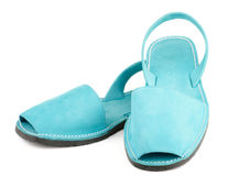 Turquoise Sandals Royalty Free Stock Photo