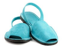 Turquoise Sandals Stock Photos