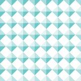 Turquoise sans couture Diamond Shape Stud Pattern Background illustration libre de droits