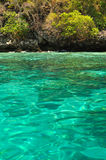 Turquoise sea Royalty Free Stock Photo