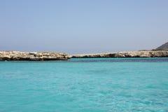 Turquoise sea Royalty Free Stock Photos