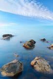 Turquoise sea Stock Image