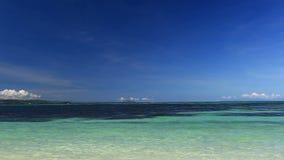 Turquoise sea beach. Philippines, Boracay island stock video footage