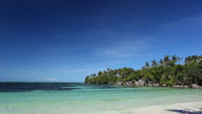 Turquoise sea beach. Philippines, Boracay island stock video