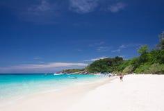 Turquoise sea Royalty Free Stock Image