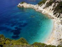 Turquoise sea cove Stock Image