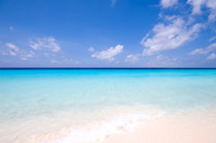 Turquoise sea view Royalty Free Stock Images