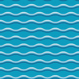 Turquoise sea water abstract geometry. Seamless pattern. water wave background. vector illustration. element for design Stock Image