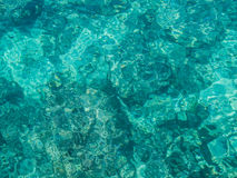 Turquoise sea water Stock Photography