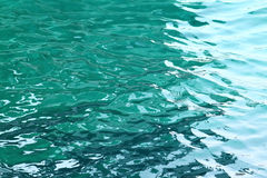 Turquoise sea water Royalty Free Stock Photography