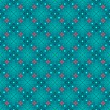 Turquoise seamless background classic Stock Images
