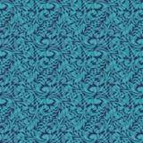 Turquoise seamless pattern Stock Photos
