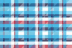 Turquoise seamless pattern check plaid fabric texture madras Royalty Free Stock Image