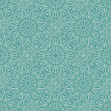 Turquoise seamless pattern Royalty Free Stock Images