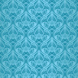 Turquoise seamless wallpaper Royalty Free Stock Photography