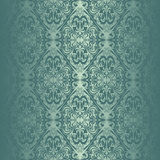 Turquoise seamless wallpaper. Stock Photo