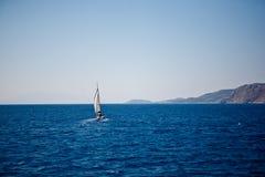 Turquoise seascape Royalty Free Stock Photo