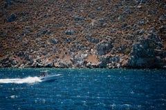Turquoise seascape Royalty Free Stock Image
