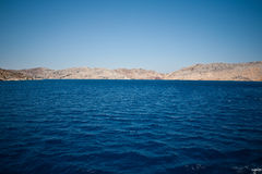 Turquoise seascape Royalty Free Stock Images