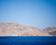 Turquoise seascape Stock Image