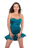 Turquoise sheath Stock Image