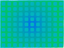 Turquoise squares stock image