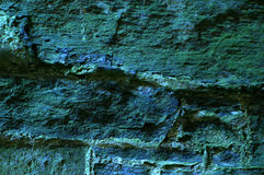 Turquoise stony background Royalty Free Stock Images