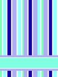 Turquoise stripes Royalty Free Stock Photos
