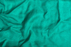 Turquoise stripes-fabric texture Stock Images