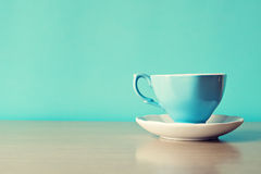 Free Turquoise Tea Cup Royalty Free Stock Photos - 43518838