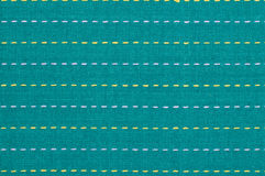 Turquoise textile background Stock Photos