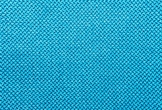 Turquoise textile texture Stock Image