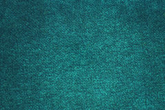 Turquoise textile texture Stock Photography