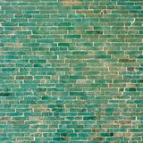 Turquoise Tile Wall Background Royalty Free Stock Photography