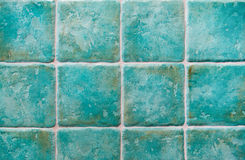 Turquoise tiles Stock Photography