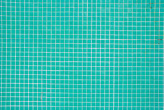 Turquoise tiles pattern Stock Photography