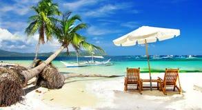 Turquoise tropics Stock Image