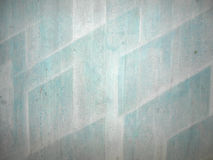 Turquoise wall. Concrete wall, painted with turquoise pattern Stock Images
