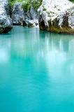 Turquoise water Royalty Free Stock Photography