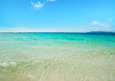 Turquoise water Stock Image