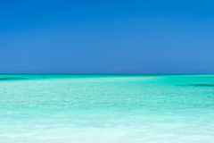 Turquoise water ans sky, Cayo Levisa Cuba Stock Photo