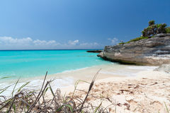 Turquoise water of Caribbean Sea Royalty Free Stock Image