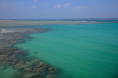 Turquoise water Stock Images