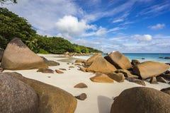 Paradise beach at anse lazio on the seychelles 29 Royalty Free Stock Photo