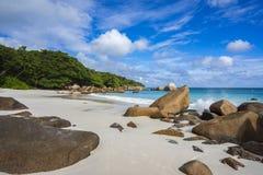 Paradise beach at anse lazio on the seychelles 37 Royalty Free Stock Image