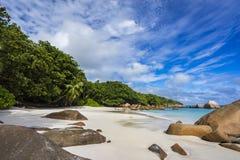 Paradise beach at anse lazio on the seychelles 47 Royalty Free Stock Image