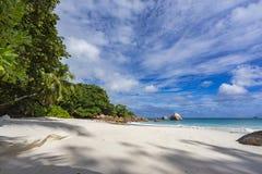 Paradise beach at anse lazio on the seychelles 73 Royalty Free Stock Photos