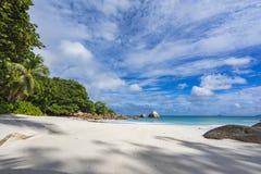 Paradise beach at anse lazio on the seychelles 80 Royalty Free Stock Image