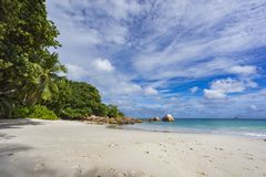 Paradise beach at anse lazio on the seychelles 83 Stock Images